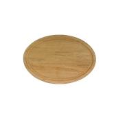 000.059 Ξύλινο Πιάτο Οβάλ με Λούκι 25 cm