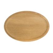 000.061 Ξύλινο Πιάτο Οβάλ Βαθύ 35 cm
