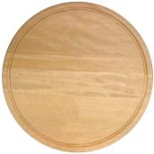 000.135 Ξύλινο Πιάτο με Λούκι 40 cm