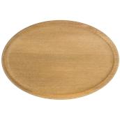 000.065 Ξύλινο Πιάτο Οβάλ Βαθύ 40 cm