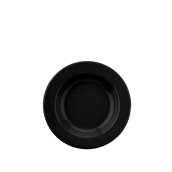 SL-22-TC-104 Πιάτο Βαθύ Κεραμικό Φ22 cm, Χρώμα Μαύρο
