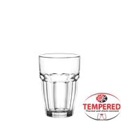 ROCKBAR LONG DRINK Γύαλινο Ποτήρι Lonk Drink 37cl, Φ8,3 x 12cm, Tempered, Σειρά ROCK BAR, BORMIOLI ROCCO, Ιταλίας