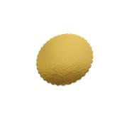 DM-30 Δίσκος-Βάση Τούρτας Χάρτινη Στρογγυλή 30cm σε χρυσό χρώμα, Ιταλίας (τιμή ανά κιλό)