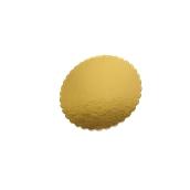 DM-28 Δίσκος-Βάση Τούρτας Χάρτινη Στρογγυλή Φ28cm σε χρυσό χρώμα, Ιταλίας (τιμή ανά κιλό)