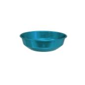 AL-BRD-18/BL Ψωμιέρα Αλουμινίου Μπλε Φ18x5,3cm, Ελληνικής Κατασκευής