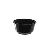 BPP-700CC Σκεύος PP Μαύρο Σούπας 700cc, Φ14x7cm, Χωρίς Καπάκι