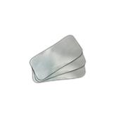 KR-45L Πακέτο 100 Καπάκια Μεταλιζέ 20,2x13,7cm για ταψάκι αλουμινίου R1-62L - R-54L