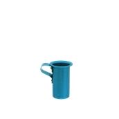 AL-OIN-100/BL Οινόμετρο Αλουμινίου Μπλε 100gr, Φ5,5x8cm, Ελληνικής Κατασκευής