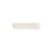 K-2054/WHITE Δίσκοs Μελαμίνηs 35x20cm Λευκός, Alkan