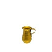 AL-KAN-100/GD Κανάτα Αλουμινίου Χρυσό 100γρ, Φ6x9cm, Ελληνικής Κατασκευής