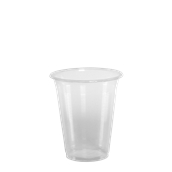 LR-505/PR/CR Ποτήρι Κρύσταλ 40 cl, 6.8gr, Μπύρας-Καφέ, Διάφανο PP, με ραβδώσεις