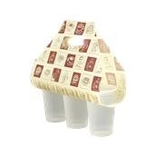 SWEETCUP-3-6 Τσάντα Μεταφοράs Ποτηριών Καφέ SweetCup 3 X 5-6 Oz