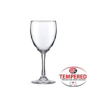 MERLOT /23CL Ποτήρι γυάλινο Tempered 23cl, φ7,5x17,4Ycm, Vicrila Ισπανίας