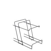 STG2P-02/UTG01-2P Πτυσσόμενο Μεταλλικό Stand 2 ψυχώμενων δίσκων Octagon, 40Μ x 26Π cm, Garibaldi