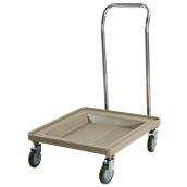 JW-ST Τρόλλεϋ μεταφοράς με χερούλια για τελάρα πλυντηρίου, 54 x 54 x 77,3 cm