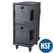 JW-DOW/GR Διπλό Ισοθερμικό κιβώτιο τροφίμων NSF, Τροχήλατο, για 10 x GN1/1 - 6,5cm