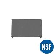 JW-PSS-4224/SOLID Ράφι Συμπαγέs Πλαστικό NSF κατάλληλο για τρόφιμα, κατάψυξη, 1060Μ x 610Β mm