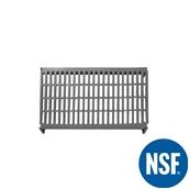 JW-PSU-4224/VENTED Ράφι Διάτρητο Πλαστικό NSF κατάλληλο για τρόφιμα, κατάψυξη,  1060Μ x 610Β mm