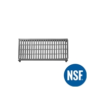 JW-PSU-4218/VENTED Ράφι Διάτρητο Πλαστικό NSF κατάλληλο για τρόφιμα, κατάψυξη,  1060Μ x 455Β mm