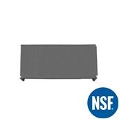 JW-PSS-4821/SOLID Ράφι Συμπαγέs Πλαστικό NSF κατάλληλο για τρόφιμα, κατάψυξη, 1220Μ x 530Β mm