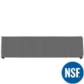 JW-PSS-7218/SOLID Ράφι Συμπαγέs Πλαστικό NSF κατάλληλο για τρόφιμα, κατάψυξη, 1825Μ x 455Β mm