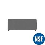JW-PSS-4818/SOLID Ράφι Συμπαγέs Πλαστικό NSF κατάλληλο για τρόφιμα, κατάψυξη, 1220Μ x 455Β mm