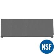 JW-PSS-7224/SOLID Ράφι Συμπαγέs Πλαστικό NSF κατάλληλο για τρόφιμα, κατάψυξη, 1825Μ x 610Β mm