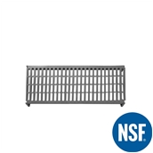 JW-PSU-4818/VENTED Ράφι Διάτρητο Πλαστικό NSF κατάλληλο για τρόφιμα, κατάψυξη,  1220Μ x 455Β mm