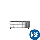 JW-PSU-3614/VENTED Ράφι Διάτρητο Πλαστικό NSF κατάλληλο για τρόφιμα, κατάψυξη,  910Μ x 355Β mm