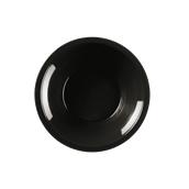 2757-19 Πιάτο πλαστικό σούπας PP 19.5cm μαύρο.