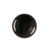 2753-19 Πιάτο μπωλ στρογγυλό PP 450cc μαύρο.