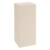HF320-H00Q85-120 Έπιπλο διακοσμητικό πλαστικό πολλαπλών χρήσεων, ορθογώνιο μπεζ 45x45x85cm Ιταλίας