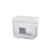 4941008 Αεροστεγές Δοχείο Τροφίμων P/C με καπάκι, HACCP, GN1/4 (265 x 162mm) - ύψος 150mm