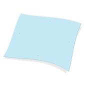1100821301 Χάρτινο Τραπεζομάντηλο Εστιατορίου, 100x130 cm, 3φυλλο, μπλε, ENDLESS
