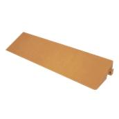 RM001-CM0040-162 Ράμπα 10 x 40 x 5Υcm για Πλακάκι Πλαστικό Χρώμα Ξύλου, VECA Ιταλίας