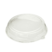 DOM05218-50 Καπάκι Διάφανο Στρογγυλό Φ46x7cm, PET, Μίας Χρήσης, Sabert