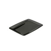 INJPL930820C5 Δίσκος Ορθογώνιος 20x28cm, Μαύρο, PS, Μίας Χρήσης, Σειρά mozaik, Sabert
