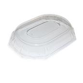 DOM52365-50 Καπάκι Διάφανο Οκταγωνικό 46x30x7cm, PET, Μίας Χρήσης, Sabert