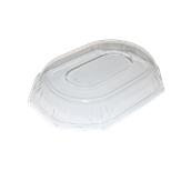 DOM52345-50 Καπάκι Διάφανο Οκταγωνικό 36x24x5cm, PET, Μίας Χρήσης, Sabert