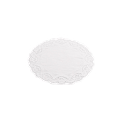 DEN50000022 Πακέτο 250 Χάρτινες Δαντέλες Στρογγυλές Φ22cm, Λευκές,  Sabert