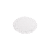 DEN50000018 Πακέτο 250 Χάρτινες Δαντέλες Στρογγυλές Φ18cm, Λευκές,  Sabert
