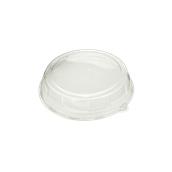 DOM57816RPET Καπάκι Διάφανο Στρογγυλό Φ26x5cm, RPET, Μίας Χρήσης, Sabert