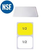 JW-P12SL Καπάκι Σφραγίσματοs Polycarbonate GN1/2 (32.5x26.5cm)