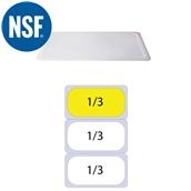 JW-P13SL Καπάκι Σφραγίσματοs Polycarbonate GN1/3 (32.5x17.6)