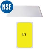 JW-P11SL Καπάκι Σφραγίσματοs Polycarbonate GN1/1 (53x32.5cm)