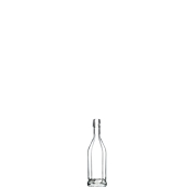 BO-001672 Γυάλινο Μπουκάλι COSTOLATA 40 mL χωρίς πώμα, Ιταλίας