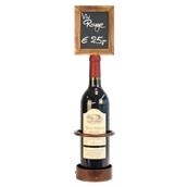 WB-WR-1 Βάση μπουκαλιού κρασιού με ταμπελάκι, 10 x 45 cm, SECURIT