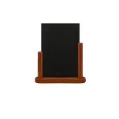 ELE-M-LA Επιτραπέζια Σήμανση-Πίνακας 7 x 28 x 32cm (A4), ερυθρόξυλο, SECURIT