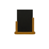 ELE-TE-LA Επιτραπέζια Σήμανση-Πίνακας 7 x 28 x 32cm (A4), χρώμα teak, SECURIT