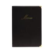 MC-CRA4-BL Κατάλογος MENU A4 CLASSIC για Εστιατόρια / cafe 24x36cm, μαύρος, SECURIT